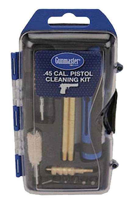 DAC Gunmaster Pistol Cleaning Kit, 14 Pieces, 45Cal, Includes 6 Piece Driver set