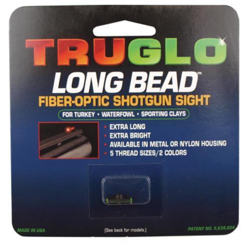 Truglo Long Bead Shotgun Sight Beretta & Benelli Green