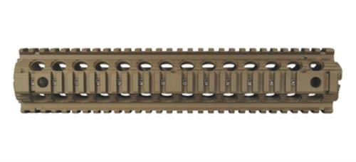 Troy Drop In Battle Rail For M-16A1, A2, A3 And A4 Rifles 12 Inch Flat Dark Earth