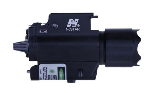 NCStar 200L Flashlight/Green Laser QR Mount Rail Mount Black