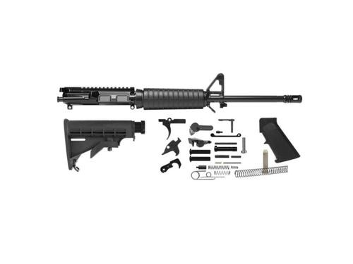 """Del-Ton Rifle Kit, .223 Rem, 16"""" Heavy Varrel, M4, Black"""