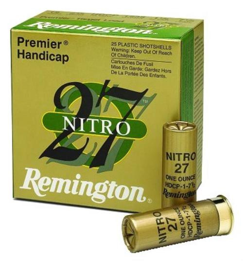 "Remington Lead Premier STS 12 Ga, 2.75"", 7.5 Shot, 1-1/8oz, 25rd/Box"