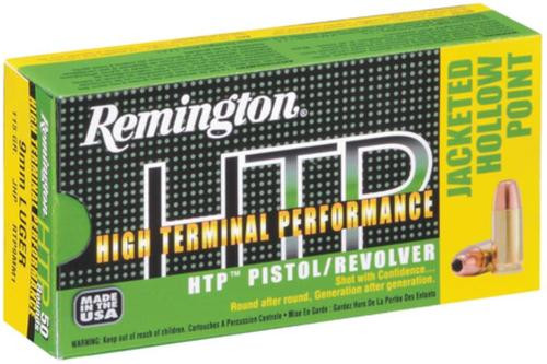 Remington HTP .357 Magnum, 158gr, Soft Point, 50rd Box