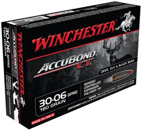 Winchester Supreme 30-06 Spg AccuBond CT 180gr 20rd Box