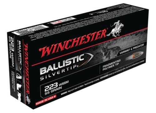 Winchester Supreme 223 WSSM Win Super Short Mag 55gr, BLST, 20rd Box