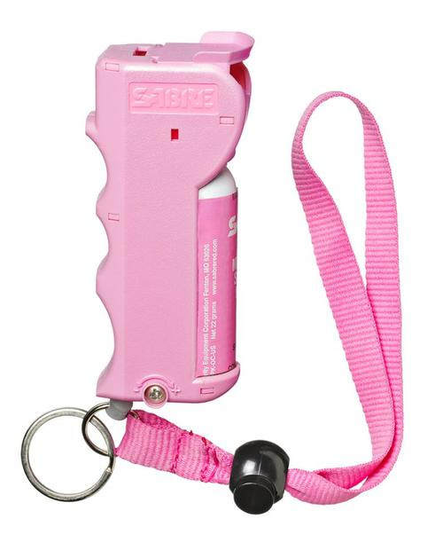Sabre Pepper Spray .54oz, Up to 10 Feet, Pink