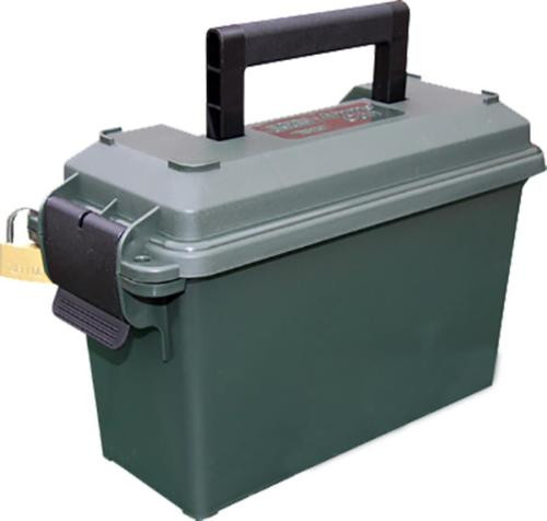 """MTM Ammo Can 30 Caliber 5""""x11.3""""x7.2"""" Poly Forest Green"""