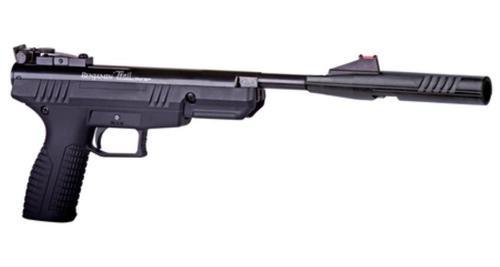 Crosman Air Guns Trail Nitro Piston Break Barrel Pistol .177 Caliber Rifled Barrel Fiber Optic Front Sight Fully Adjustable Rear Sight Black