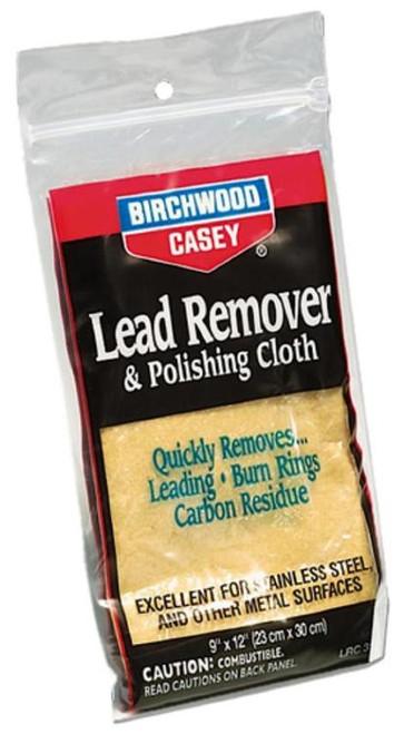 "Birchwood Casey Lead Remover Polishing Cloth 6"" X 9"""