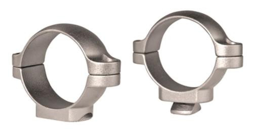 "Leupold Rings Standard Low 1"" Diameter Silver"