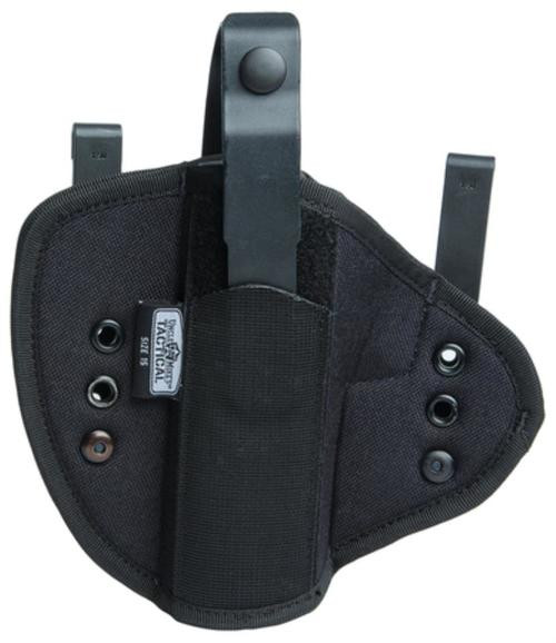 Uncle Mike's Inside-The-Waistband Tuckable Holster Size 0 Black Ambidextrous