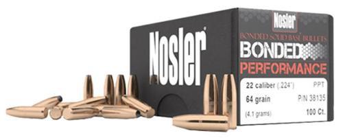 Nosler Bonded Performance 6.8mm .277 90gr Protected Point, 100/Box