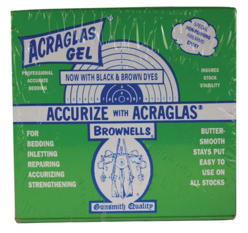 Brownells Acraglas Gel Kit 4 oz