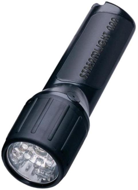 Streamlight 4AA LED, White LEDs, Alkaline Batteries, Black