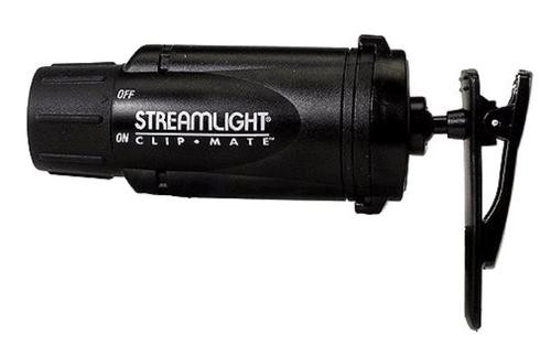Streamlight ClipMate with White LEDs, Alkaline Batteries, Black
