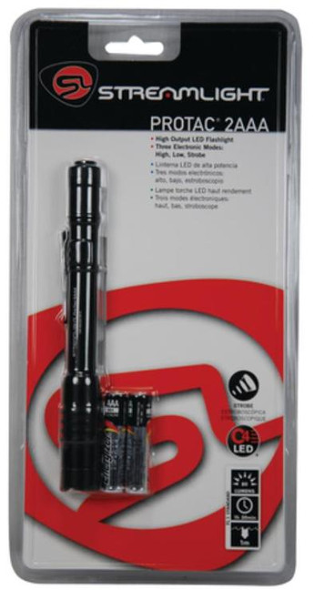 Streamlight ProTac 2AAA C4 LED Flashlight Black