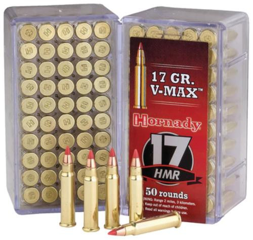 Hornady 17 HMR Jacketed Hollow Point 20gr, 50rd Box, 40 Boxes/Case