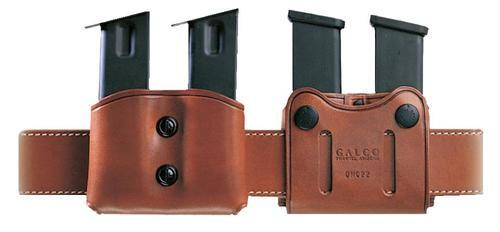 Galco DMC Double Mag 45 ACP/10mm Single Column Belt Width 1 - 1.75 Black Leather