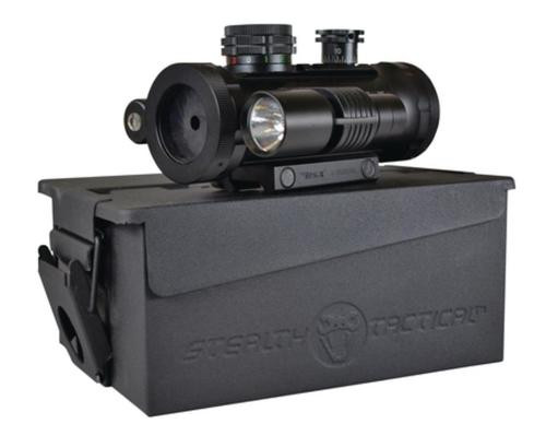 BSA Stealth Tactical Red Dot, Illuminated With Laser