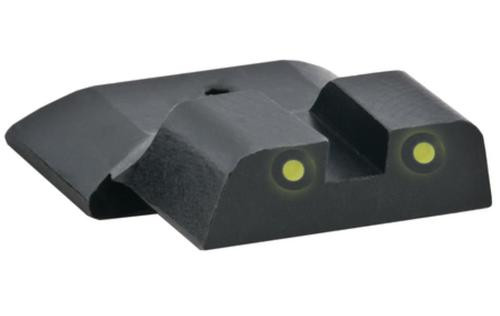 Ameriglo Rear Tritium Night Sights S&W M&P Yellow Tritium With Black Outlines