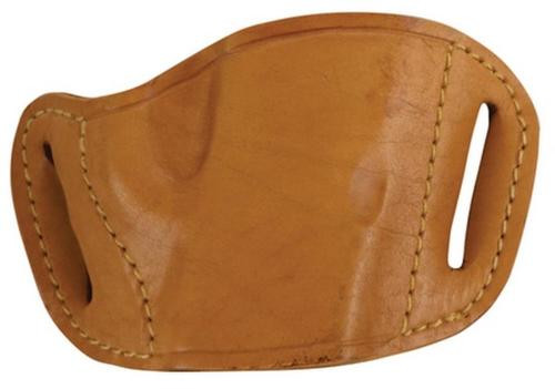 Bulldog Leather Holster Belt Slide Tan Small Auto: LCP Sig 230 Walther PPK Etc.