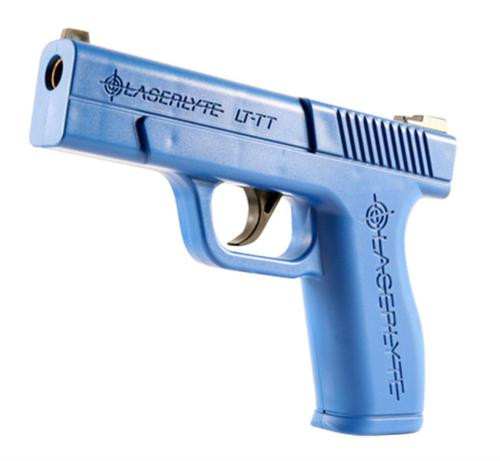LaserLyte Trigger Tyme Training Pistol Full Size (Glock 23sized) Poly Blue