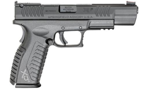 "*D*Springfield XDM-5.25 Competition Series 9mm, 5.25"" Barrel, Fiber Optic Front Sight, 19rd"