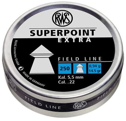 RWS Superpoint Pellets .22 Super Point Extra, 250/Tin