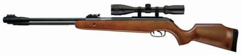 """Umarex Firearms Browning Leverage Air Rifle .177 Caliber 18.9"""" Blued Barrel Wooden Stock 3-9x40mm Scope"""