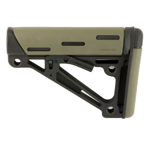 Hogue, Stock, Fits Mil-Spec Buffer Tube Only, AR15 6-Position Stock, OD Green Finish