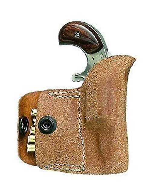 NAA Pocket Holster 22LR Frame Black Leather