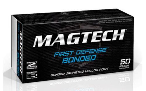 Magtech First Defense 40 S&W 180gr JHP Bonded, 50rd Box