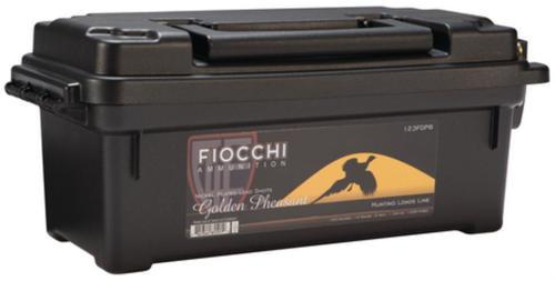 "Fiocchi Ammunition Golden Pheasant Nickel 12 Ga 3"" 1200 FPS 1.75oz 6 Shot 100rds In Plano Case"