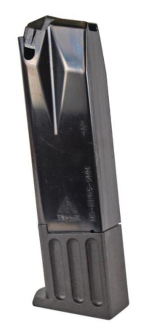 Mec-Gar Ruger P85/89/93/94/95/PC9 9mm Magazine, Nickel, 15rd