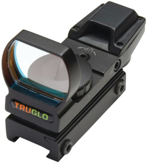 Truglo Red Dot Multi Reticle Dual Color Red/Green Picatinny Rail Mount