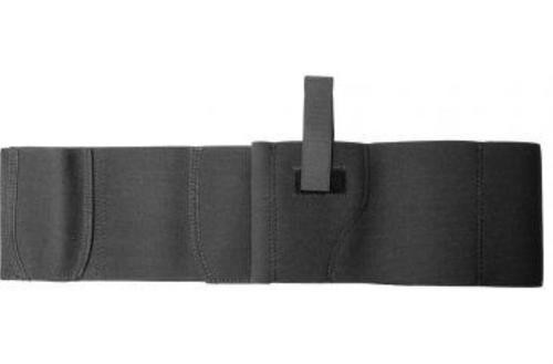 DeSantis Belly Band Holster, Large, Ambidextrous, Elastic, Black