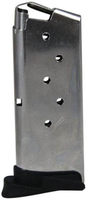 Sig P290 Magazine 9mm 6rd Stainless Steel