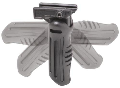 Command Arms 5 Position Folding Vertical Grip Picatinny Polymer Black