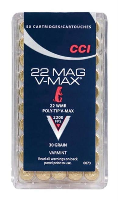 CCI Varmint Stinger .22 Mag 30gr, V-Max, 50rd Box