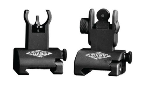 YHM Yankee Hill Machine Quick Deploy Same Plane Sight System Front And Rear Set Hooded
