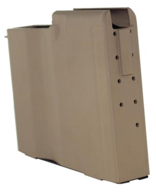 Barrett Magazine for Model M107A1 .50 BMG, 10 Rnd, Flat Darth Earth,, Witness Holes