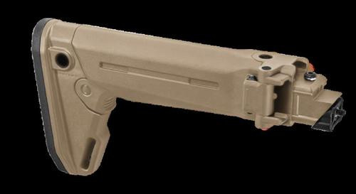 Magpul Zhukov-S Flat Dark Earth AK Pattern Folding Stock, Stamped Receivers
