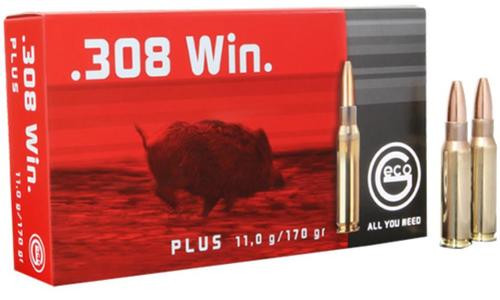 Geco .308 Win 165gr, Expandable, 20rd/Box
