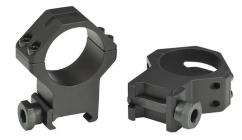 Weaver 4-Hole Tactical Picatinny Ring Extra-Extra-High Matte Black 1 Inch
