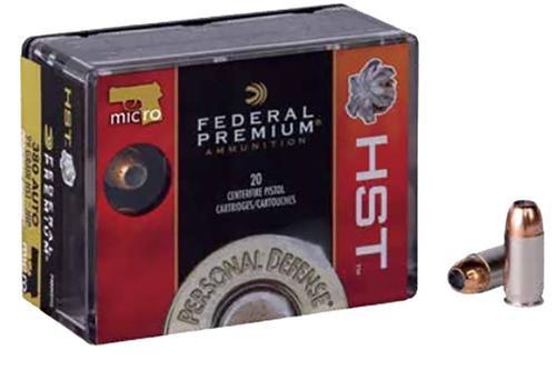 Federal HST.380 ACP, 99 Gr, JHP, 20rd Box