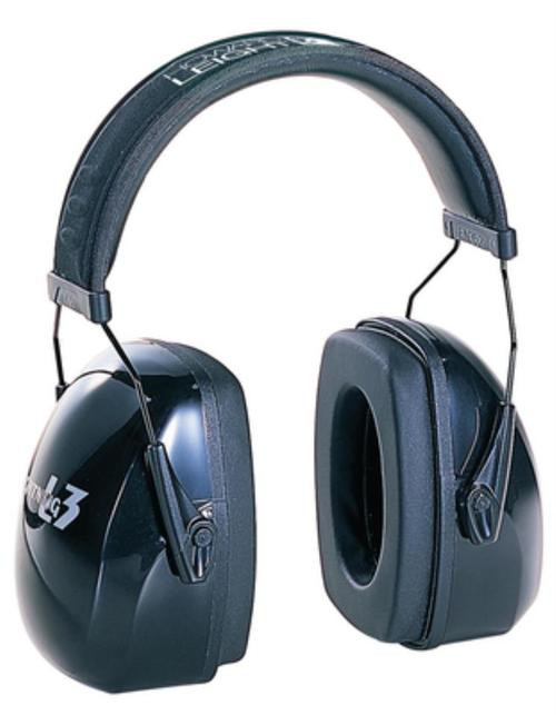 Howard Leight L3 Hearing Protection Muffs Black