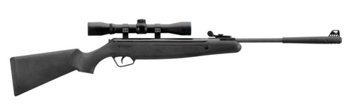 Stoeger X-10 Black Synthetic Hunter-Style Stock With Fiber-Optic Sights and 4 x 32 Scope