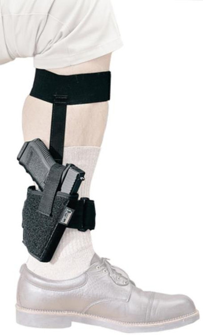 Uncle Mike's Sidekick Ankle Holsters Size 1 Black Left Hand