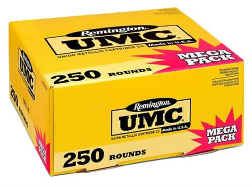 Remington UMC .380 ACP 95gr, Metal Case 250rd Box