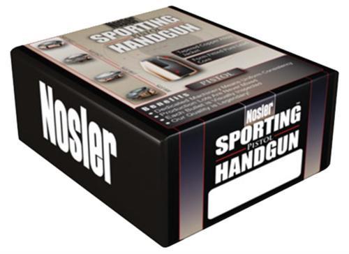 Nosler Sporting Handgun Pistol JHP 10mm .400 180gr, 250 Per Box, Bullets Only Not Ammo